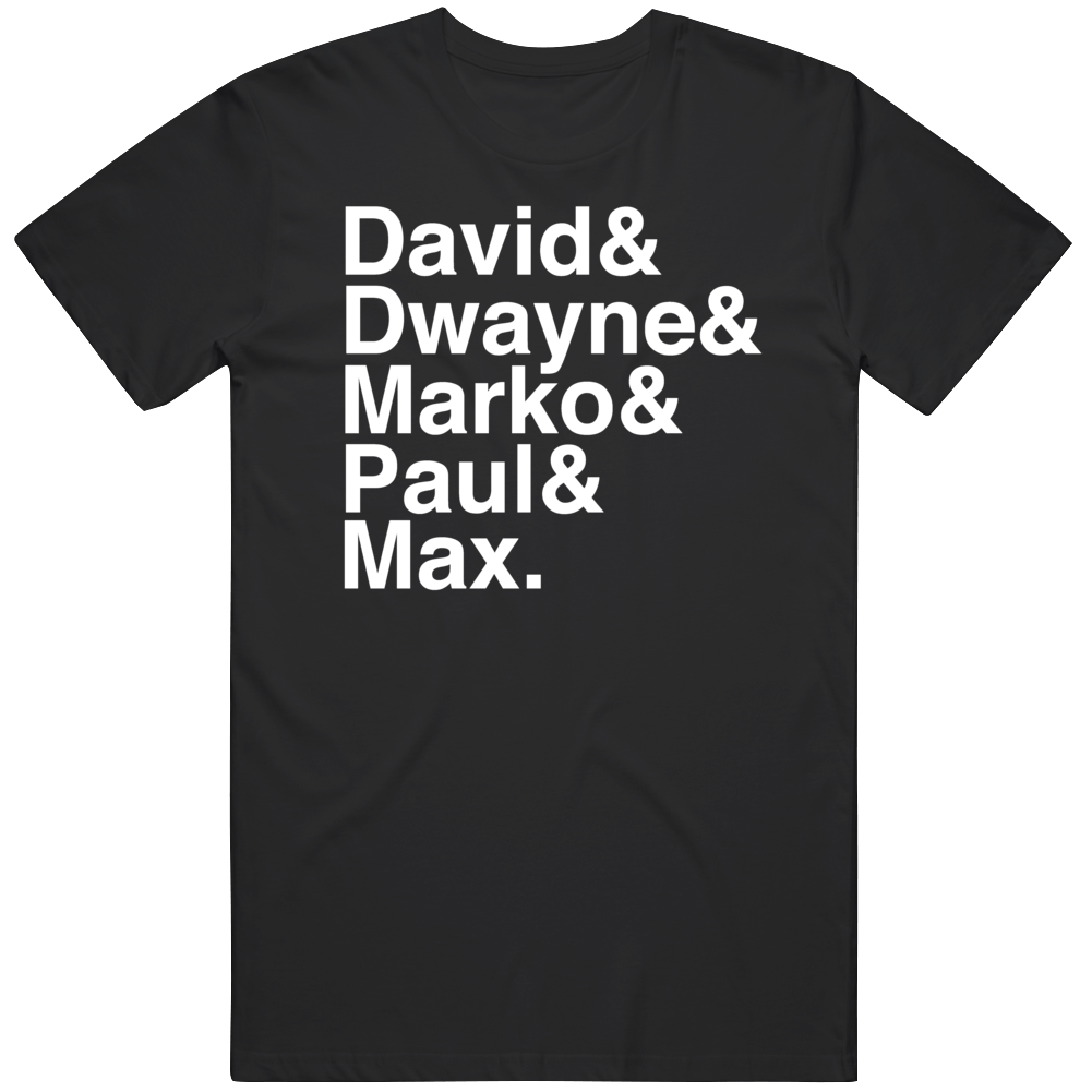 Cult Classic Movie The Lost Boys Vampire Names Fan T Shirt