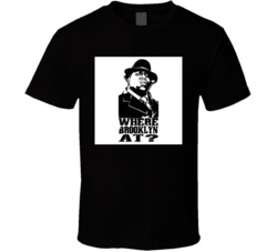 Biggie Smalls Where Brooklyn At Quote Tshirt