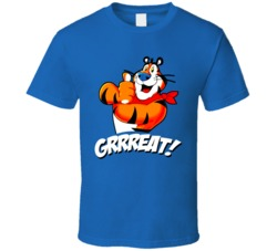 Tony The Tiger Cereal Mascot Retro T Shirt