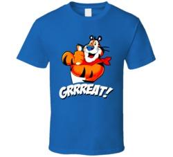 Tony The Tiger Cereal Mascot Retro T Shirt