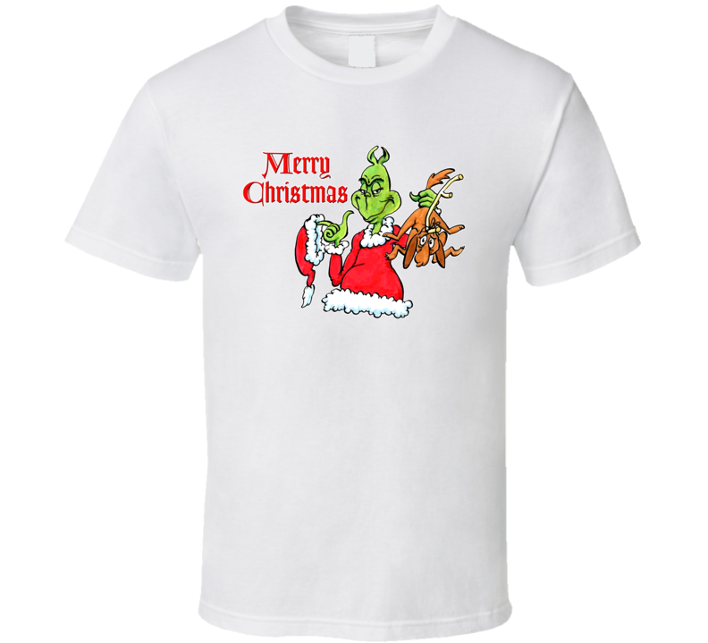 The Christmas Grinch T Shirt
