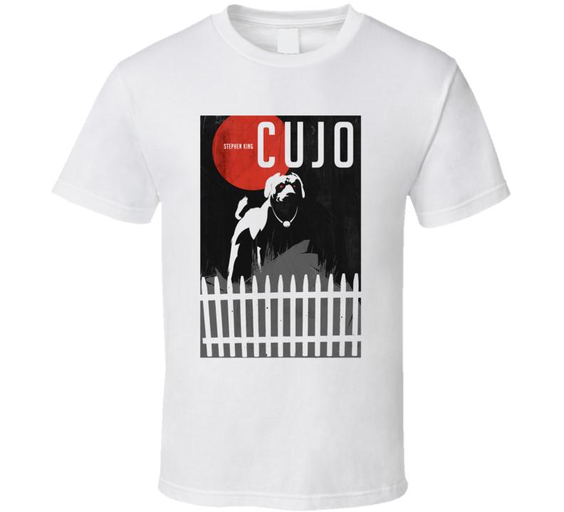 Stephen King CUJO Movie Poster T Shirt