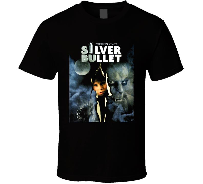 Stephen King Silver Bullet Movie Poster T Shirt