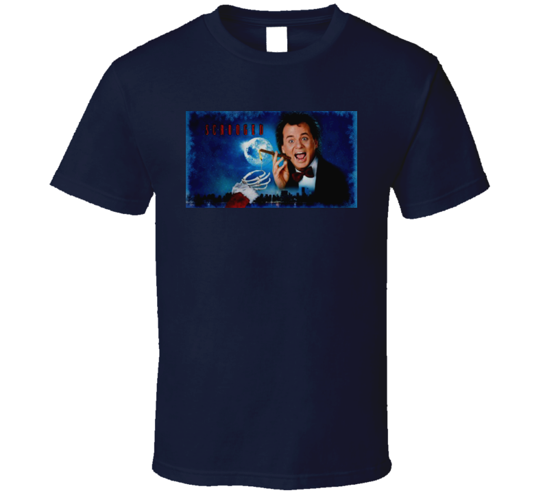 Scrooged Christmas Movie T Shirt