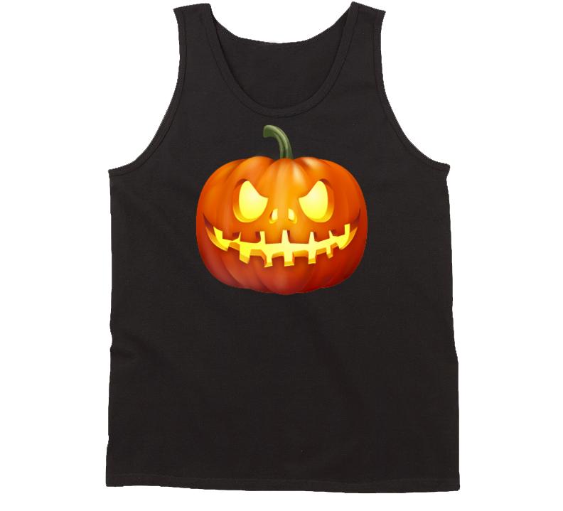 Halloween Jack-o-Lantern Tank Top