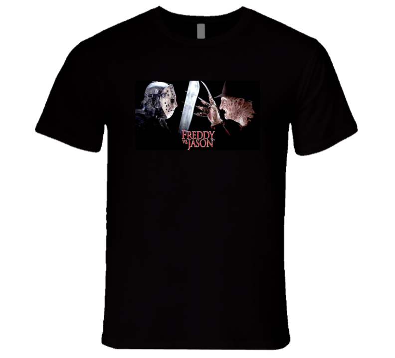 Freddy vs. Jason Halloween Tshirt