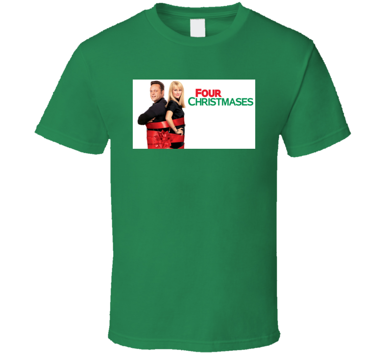 Four Christmases Movie Poster Tshirt