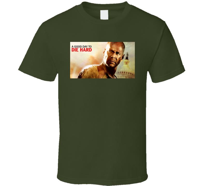 Die Hard Movie Poster Tshirt