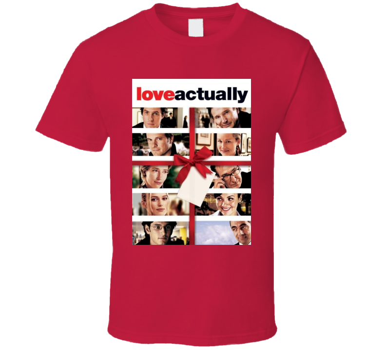 Love Actually Valentine's Day Movie Tshirt