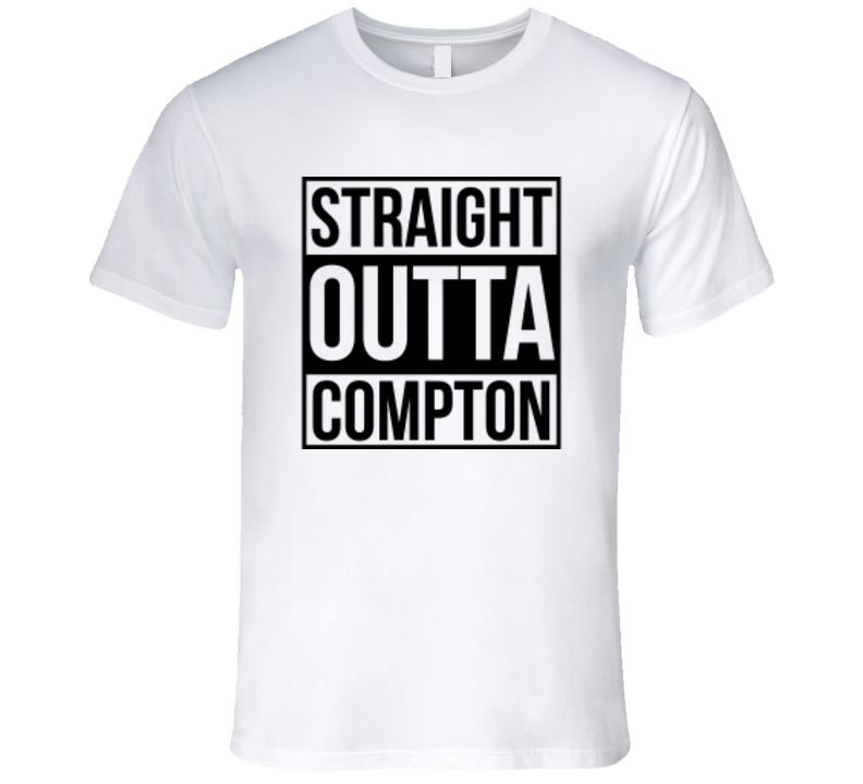 Straight Outta Compton Logo Tshirt
