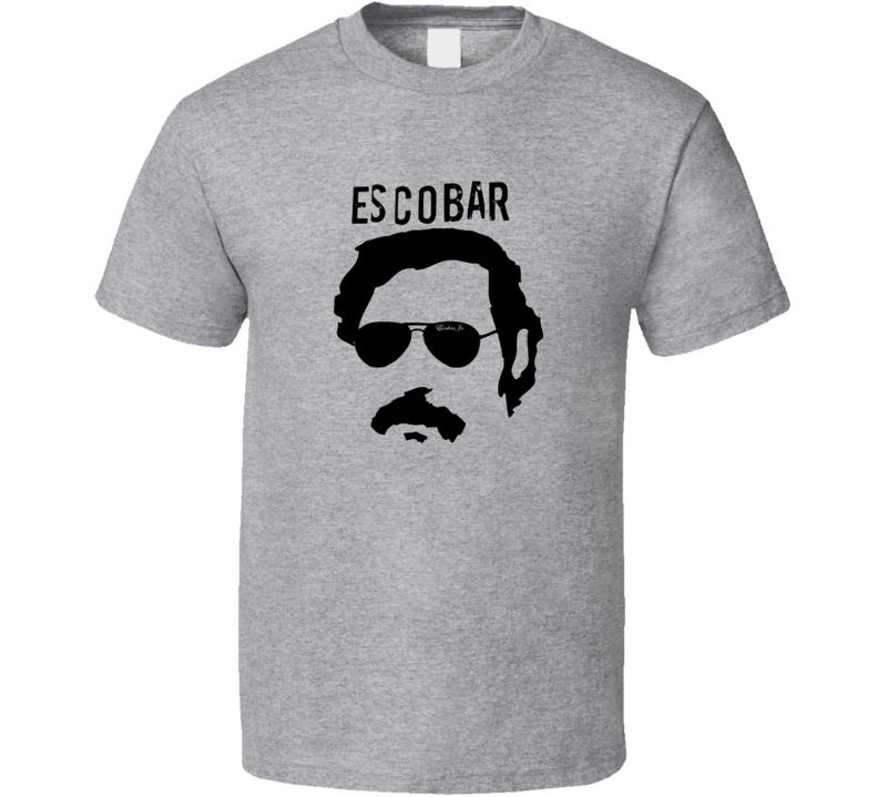 Pablo Escobar Image Tshirt