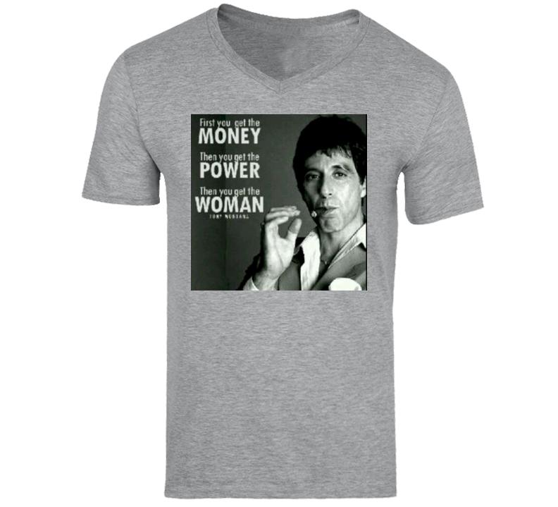 Tony Montana - Scarface Quote Tshirt