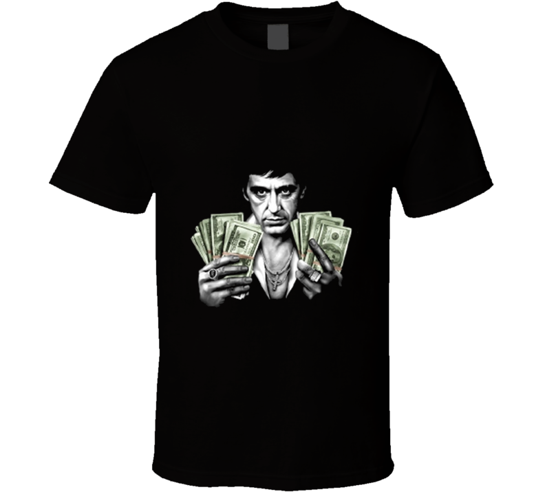 Scarface Movie Money Tshirt