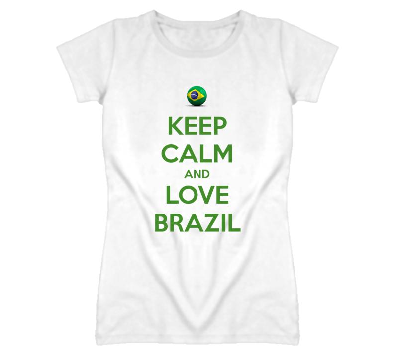 Brazil Keep Calm Tshirt