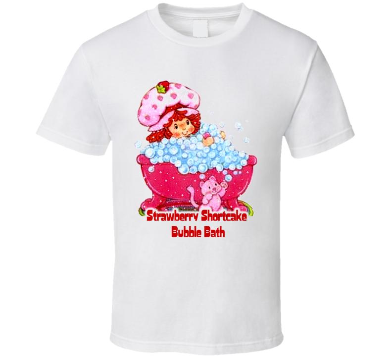 Strawberry Shortcake Bubble Bath T Shirt