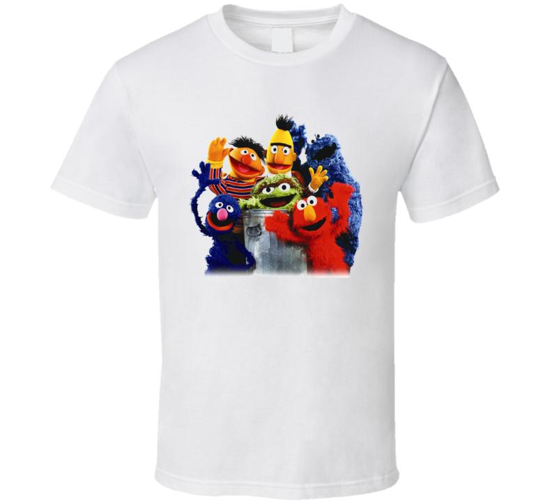 Sesame Street Friends T Shirt