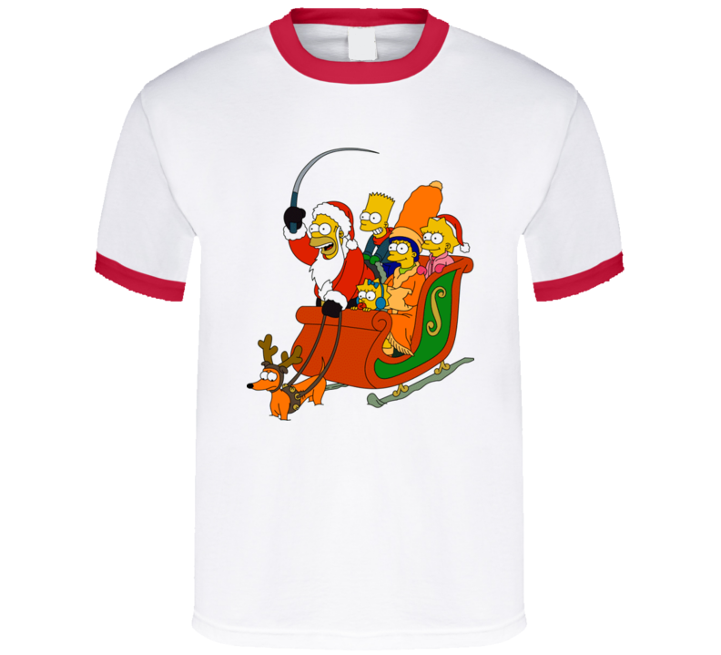 Simpson's Christmas T Shirt