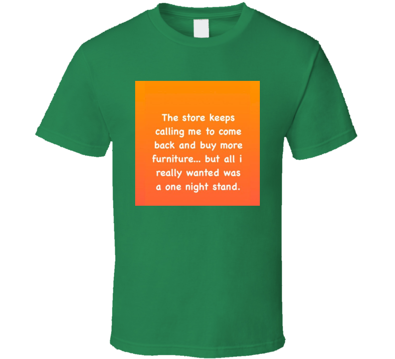 One Night Stand Funny Tshirt