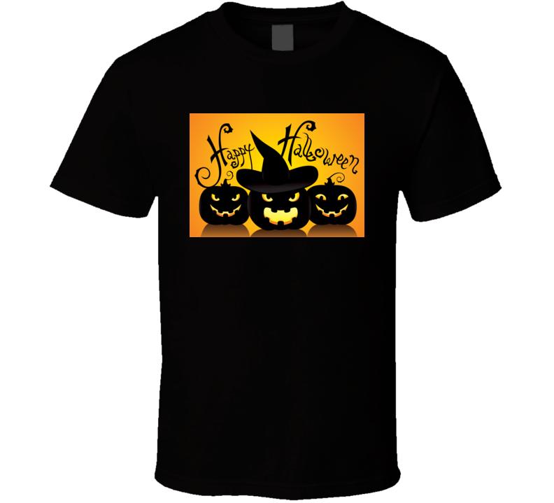 Happy Halloween Greeting Tshirt