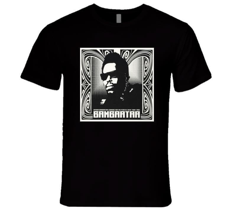 Afrika Bambaataa Retro Hip Hop Music Tshirt