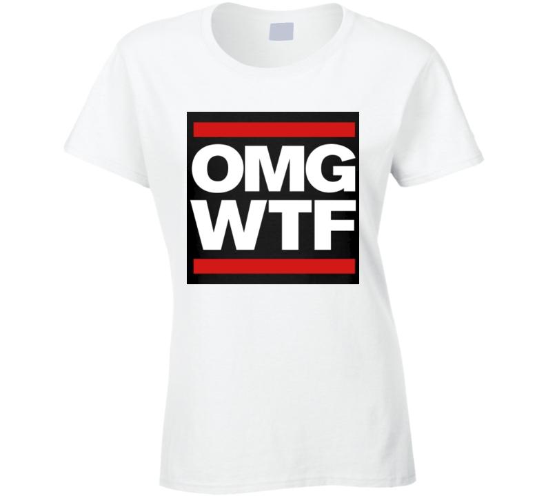 OMG WTF Logo Tshirt