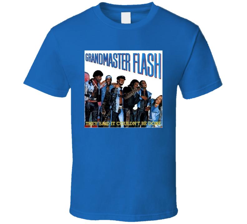 GrandMaster Flash Retro Rap Tshirt