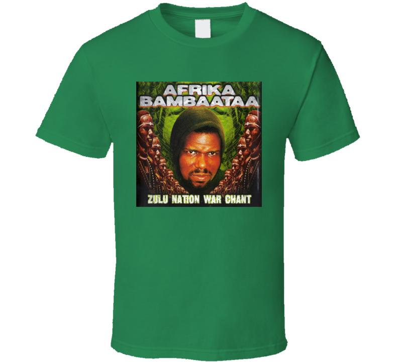 Afrika Bambaataa Zulu Nation Classic Rap Tshirt