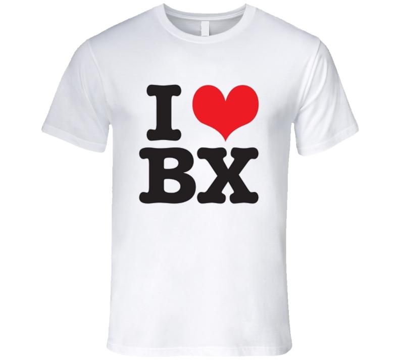 I Love The Bronx T Shirt