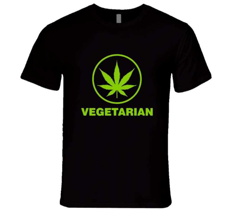 Vegetarian Cannabis Tshirt