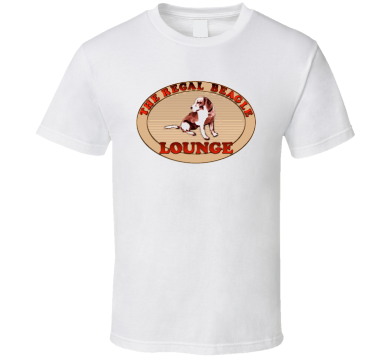 The Regal Beagle Lounge Logo Tshirt
