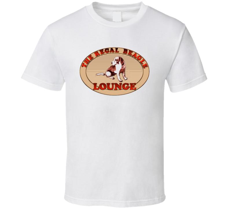 The Regal Beagle Lounge Logo Tshirt