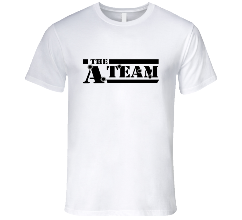 The A-Team 80's Action TV Show T Shirt