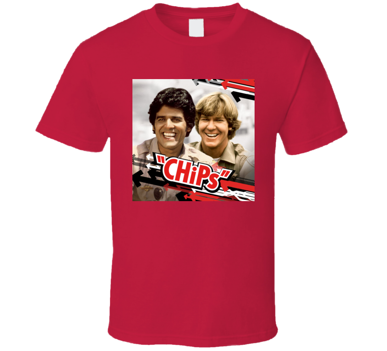 CHiPs 70's Classic TV Show Tshirt