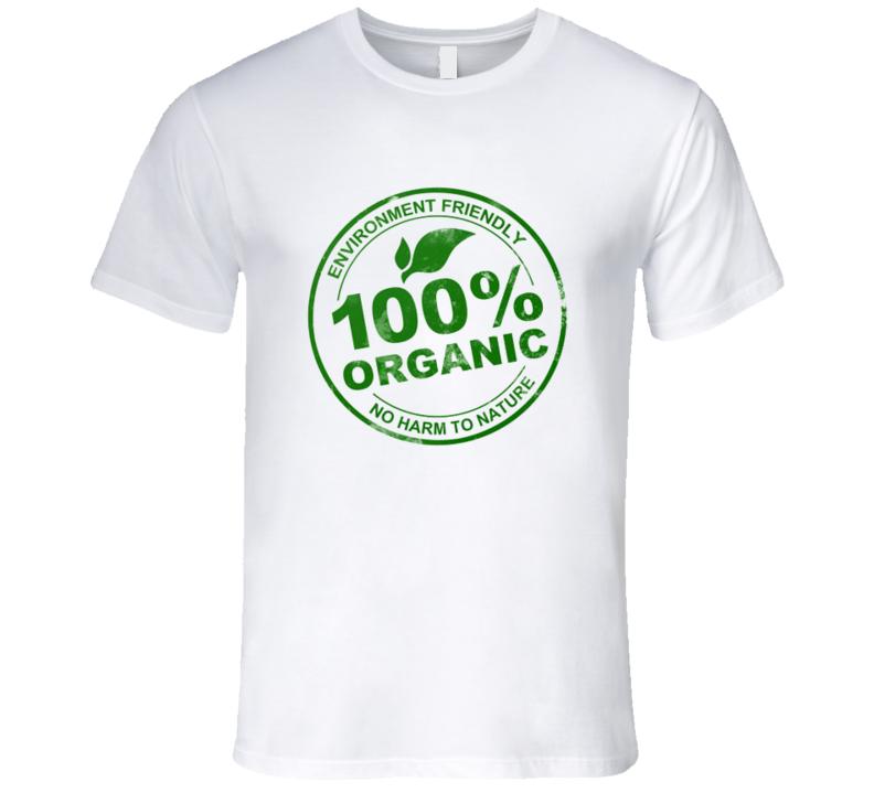 100% Organic Logo Tshirt