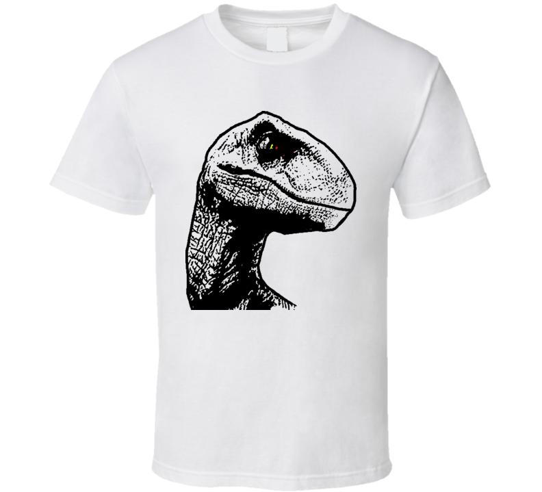 Jurassic Park Raptor Dinosaur T Shirt