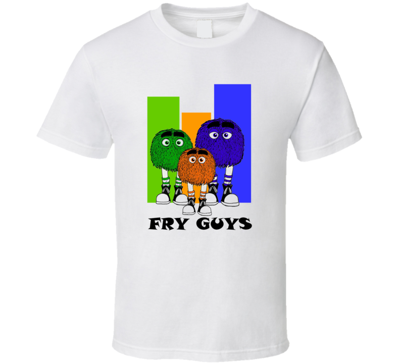 Golden Arches Retro Fry Guys Characters Tshirt