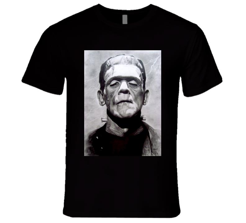 Frankenstein Classic Character Tshirt