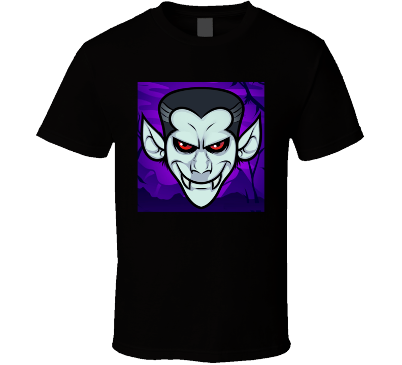 Dracula Cartoon Character Tshirt