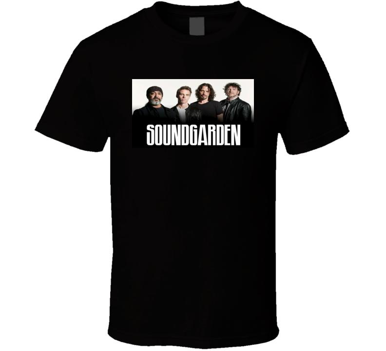 SoundGarden Rock Band Tshirt
