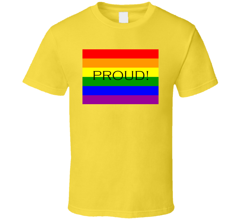 Proud Gay Pride Tshirt