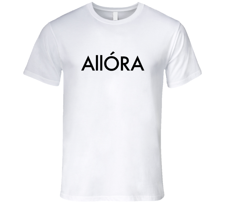 Allora Master Of None Funny Quote Tshirt