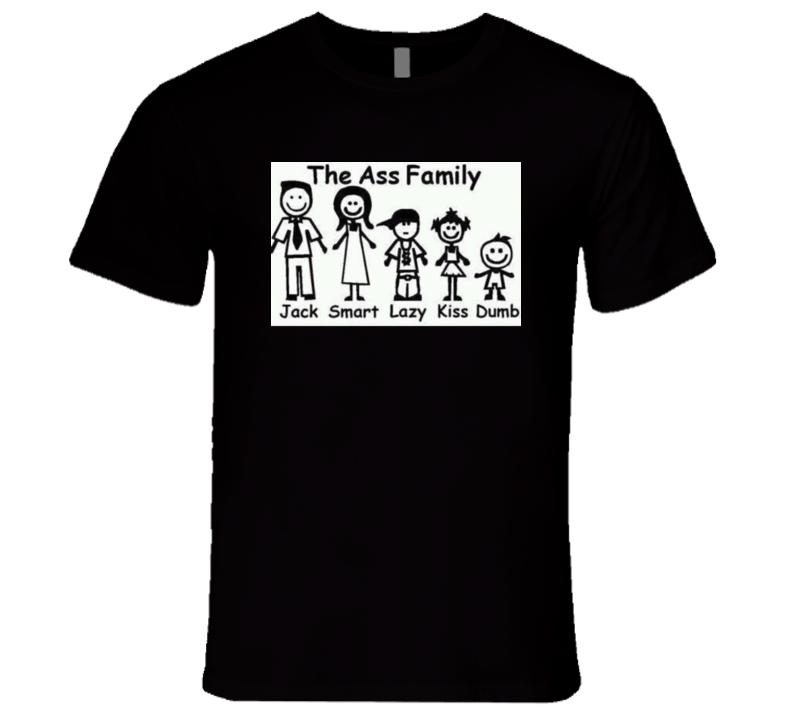 Funny Ass Family Photo Tshirt
