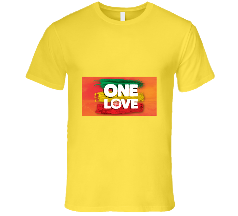 One Love Jamaican Inspiration Tshirt