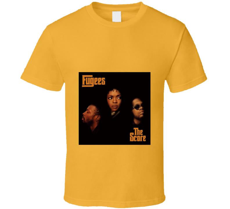 The Score Retro Album Tshirt