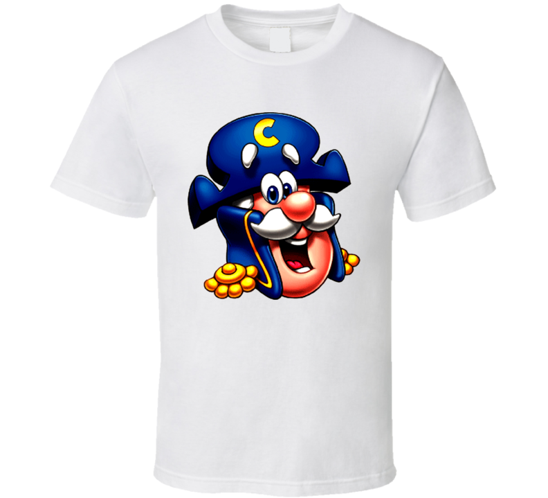 Captain Crunch Cereal Logo T Shirt