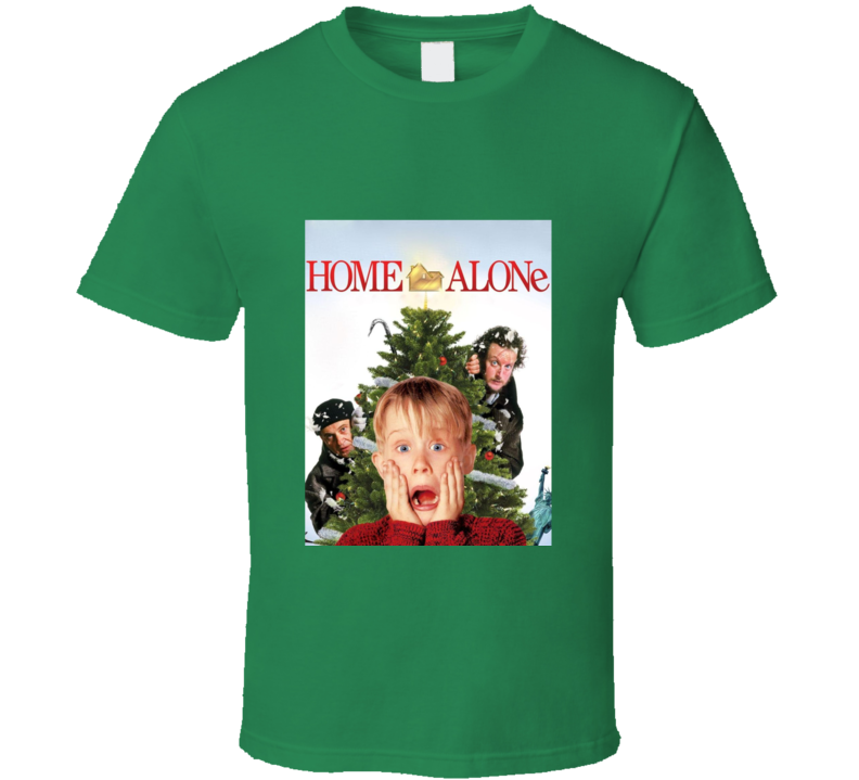 Home Alone Christmas Movie Tshirt