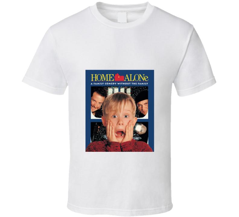 Home Alone Kids Christmas Movie Tshirt