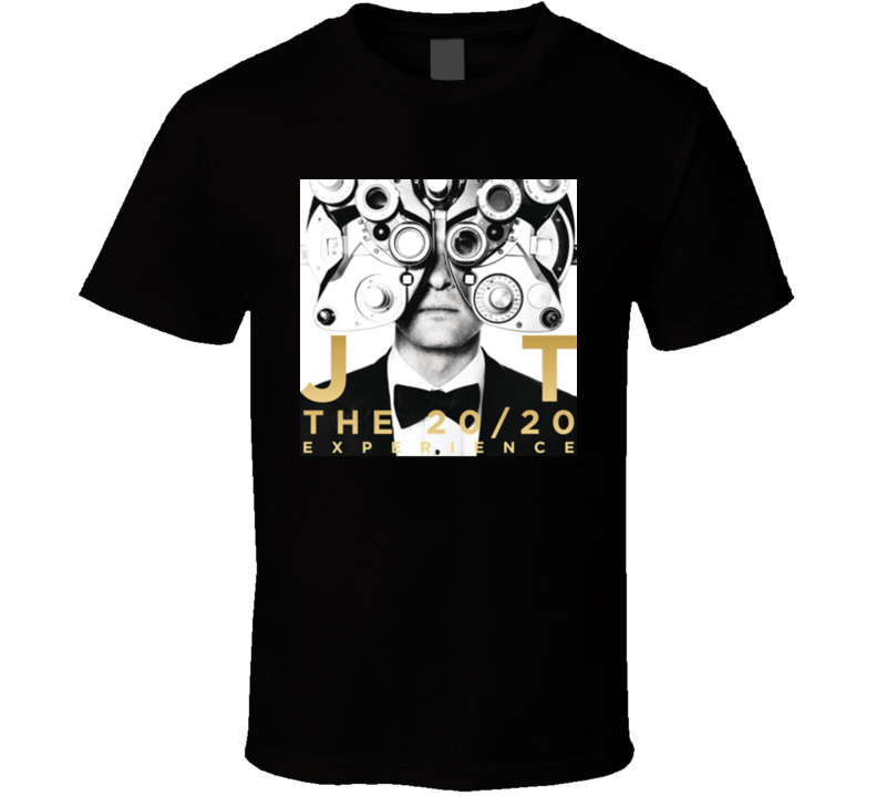 Jt The 20/20 Experience Concert Tour Tshirt
