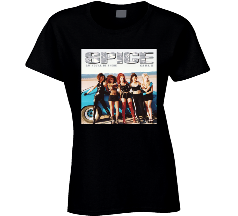 Spice Girls Spice Up Your Life Retro Album Tshirt