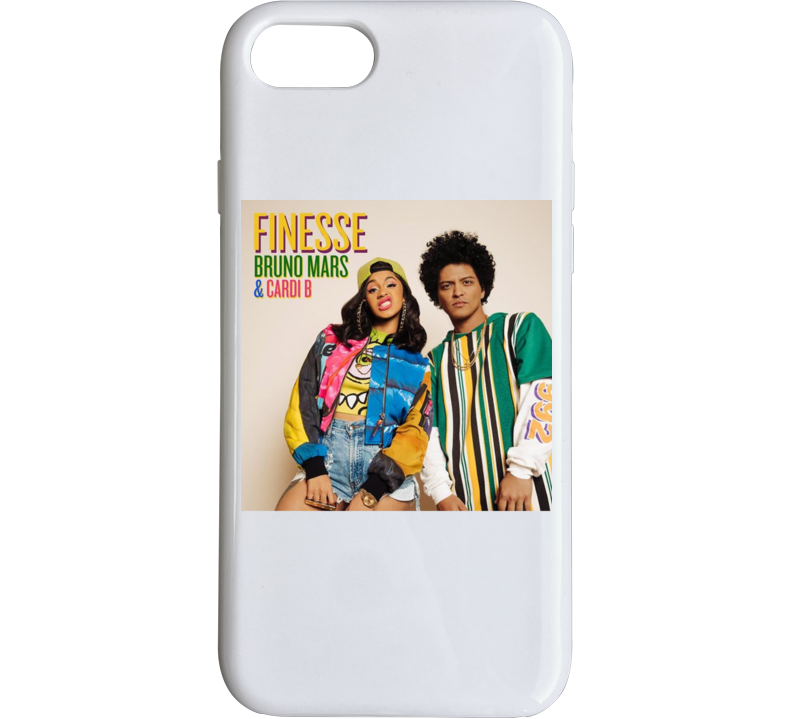 Finess Album Cardi B & Bruno Mars Phone Case
